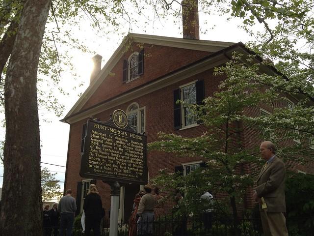 Hunt Morgan House Historic Marker Unveiling Lexington Ky Flickr Photo Sharing