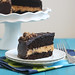 Fudge-Glazed Creamy Peanut Butter Chocolate Cake