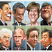 G8 Leaders (May 2012) Caricatures
