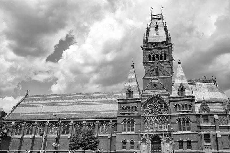 Harvard Memorial Hall black & white | Michelle O'Connor ...