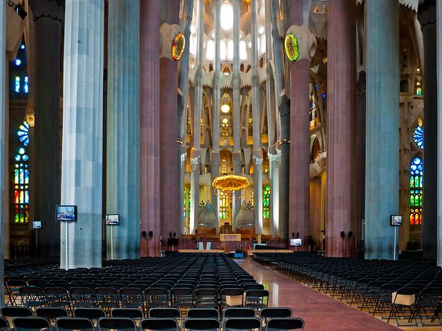 Sagrada familia interior flickr photo sharing for La sagrada familia inside