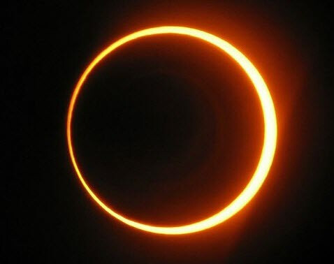 Annular Solar Eclipse If You Live Out In The West Coast