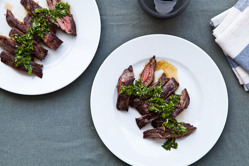 Skirt Steak with Chimmichurri | by continental drift