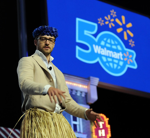 Justin Timberlake Hosts Walmart Shareholders' Meeting 2012 | by Walmart Corporate