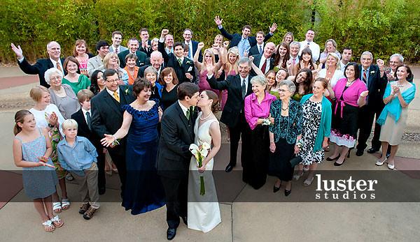 Large Group Photo Wedding Ideas