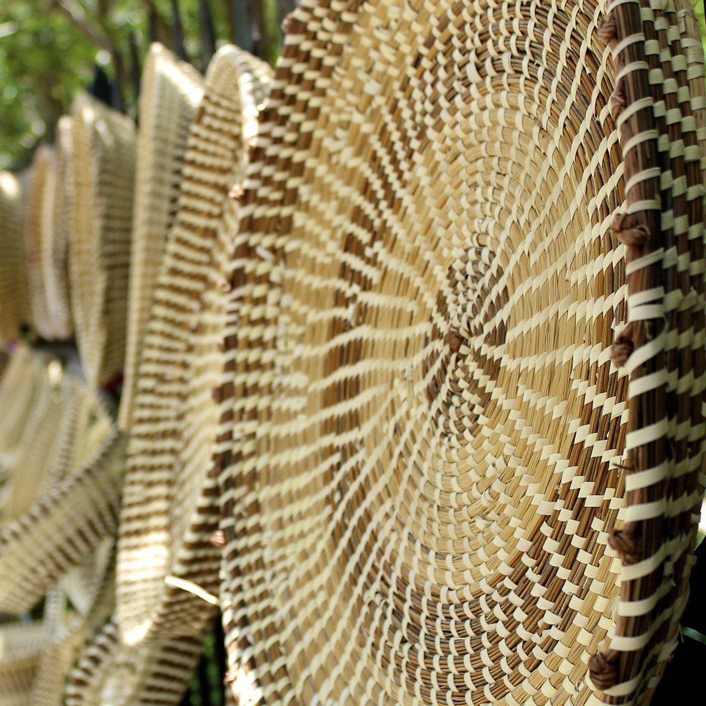 How To Weave A Sweetgrass Basket : Sweetgrass these baskets are everywhere made by