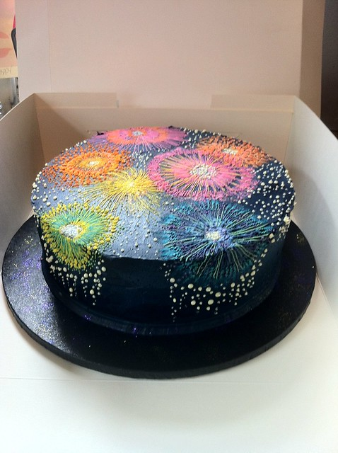 Firework Cake Decorations