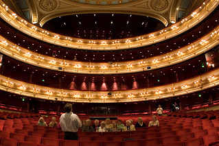 Tours of the auditorium at the Royal Opera House © Pete Le May/ROH 2012 | by Royal Opera House Covent Garden