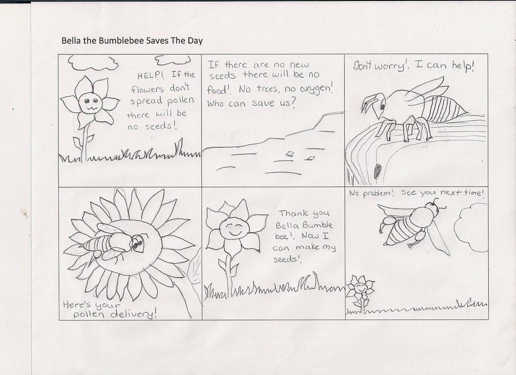 Bee pollination cartoon Bee pollination cartoon – Pollination Worksheet