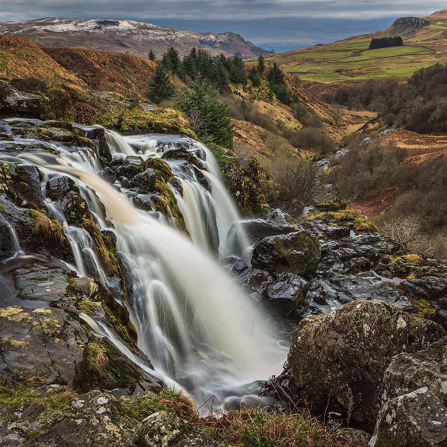 Loup of Fintry | The Loup of Fintry Waterfall on the River ...