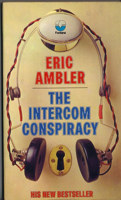 1970s Fontana paperback cover of The Intercom Conspiracy