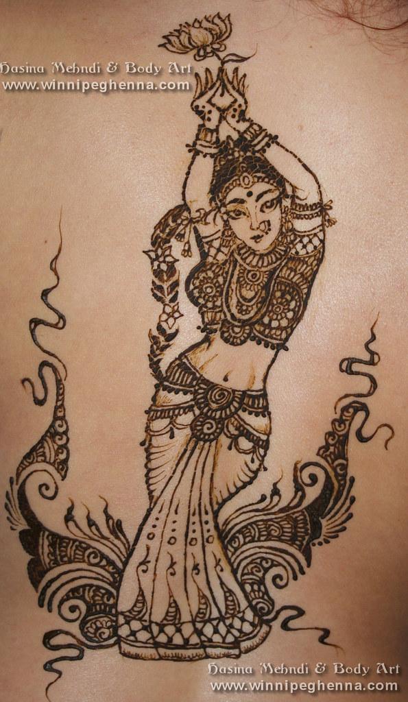 Henna Tattoo Winnipeg : Model henna artist winnipeg makedes