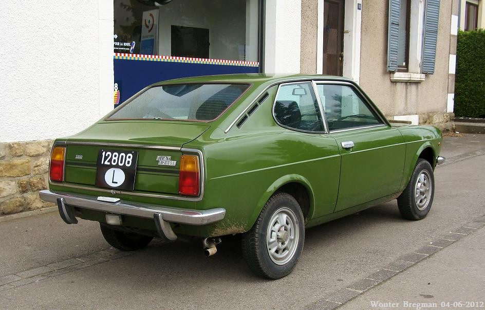 Fiat 128 Sport Coup 233 Sl Wouter Bregman Flickr
