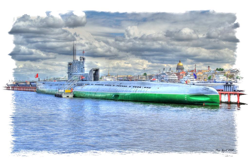the soviet whiskey class submarine s189 Сове��кая подвод