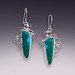 custom job: gem silica earrings