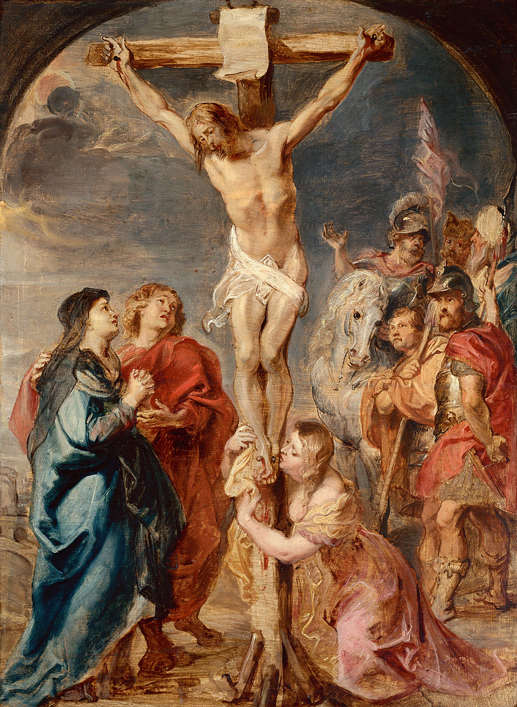 peter paul rubens christus am kreuz christ on the cross. Black Bedroom Furniture Sets. Home Design Ideas