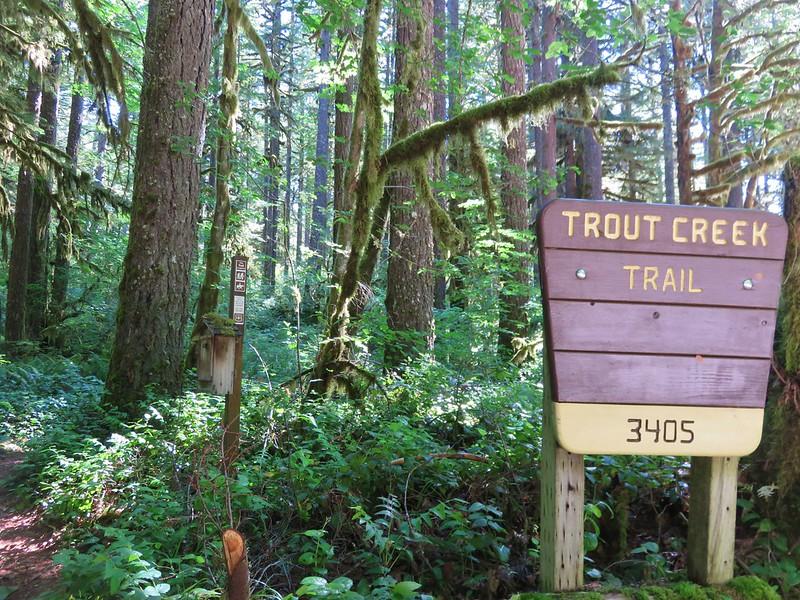 Trout Creek Trail Trailhead