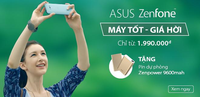 Mua ASUS ZenFone chính hãng giá tốt nhất