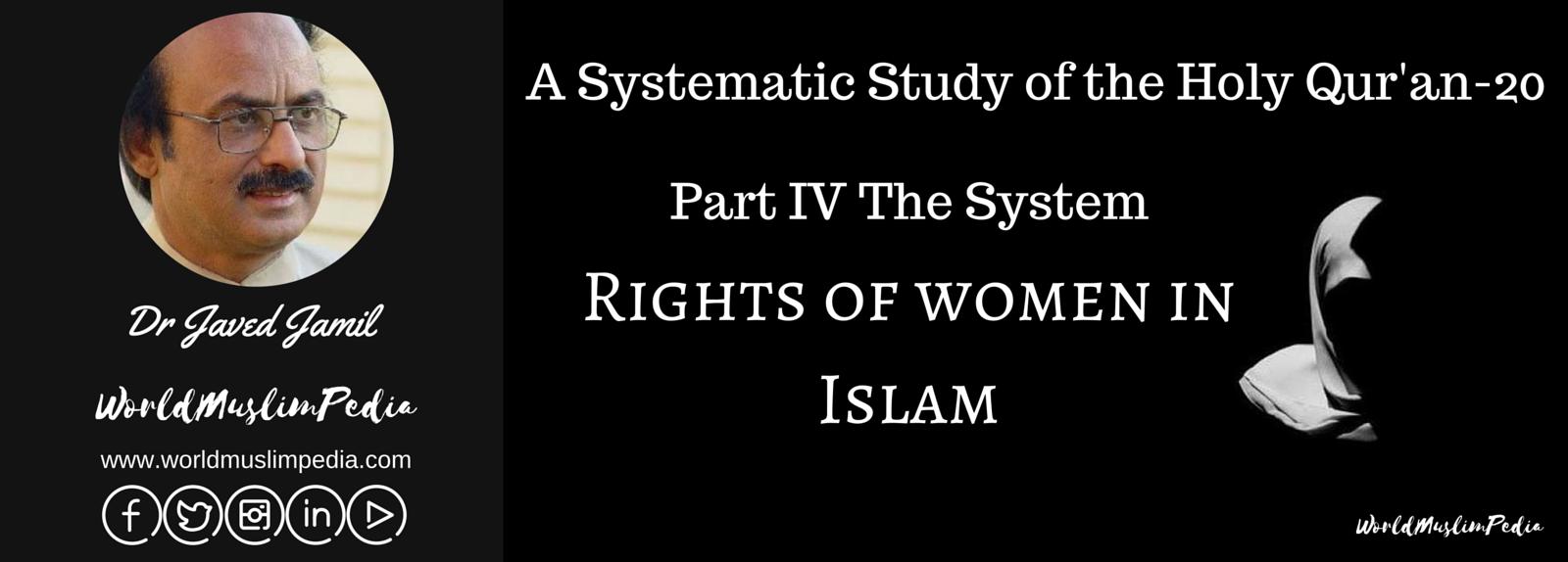 WMP-Rights of women in Islam