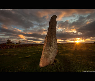 Sunset At Long Meg | by .Brian Kerr Photography.