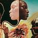 Bitches Brew: gatefold artwork for Miles Davis album without type