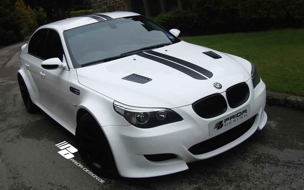 Bmw 5 Series E60 Pd Widebody Aerodynamic Kit Bmw 5