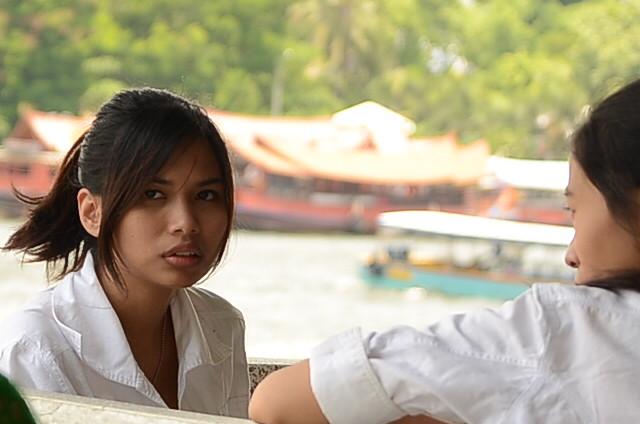 Thai Teen waiting for the boat | Thailand ( Thai: ประเทศ