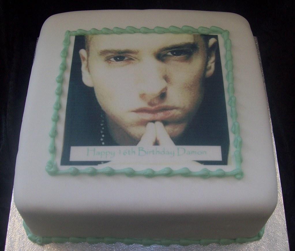 Eminem Birthday Cake