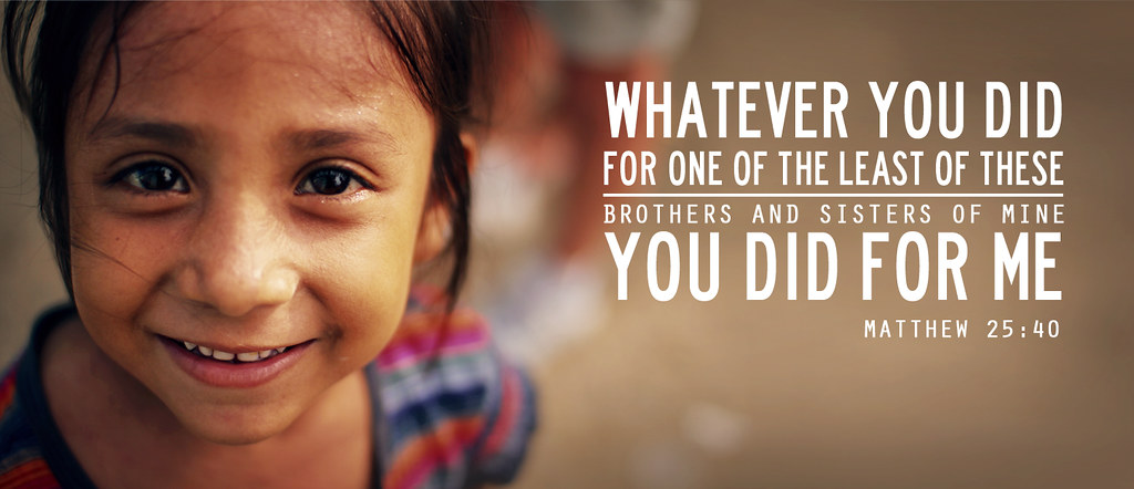 Matthew 25:40 | web banner for international servants ...