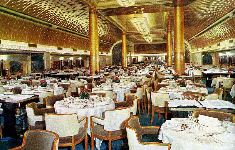 Ss Nieuw Amsterdam Dining Room