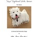 Bead It Yourself Beading Pattern PDF File: West Highland White Terrier Pin