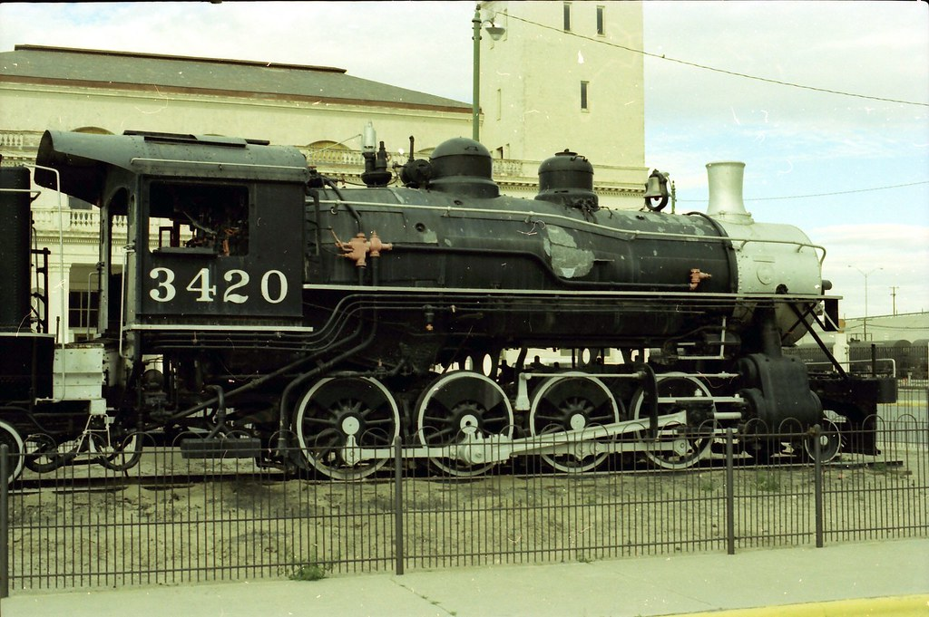 Southern Pacific 2-8-0 3420 El Paso Texas | Once again, arme… | Flickr