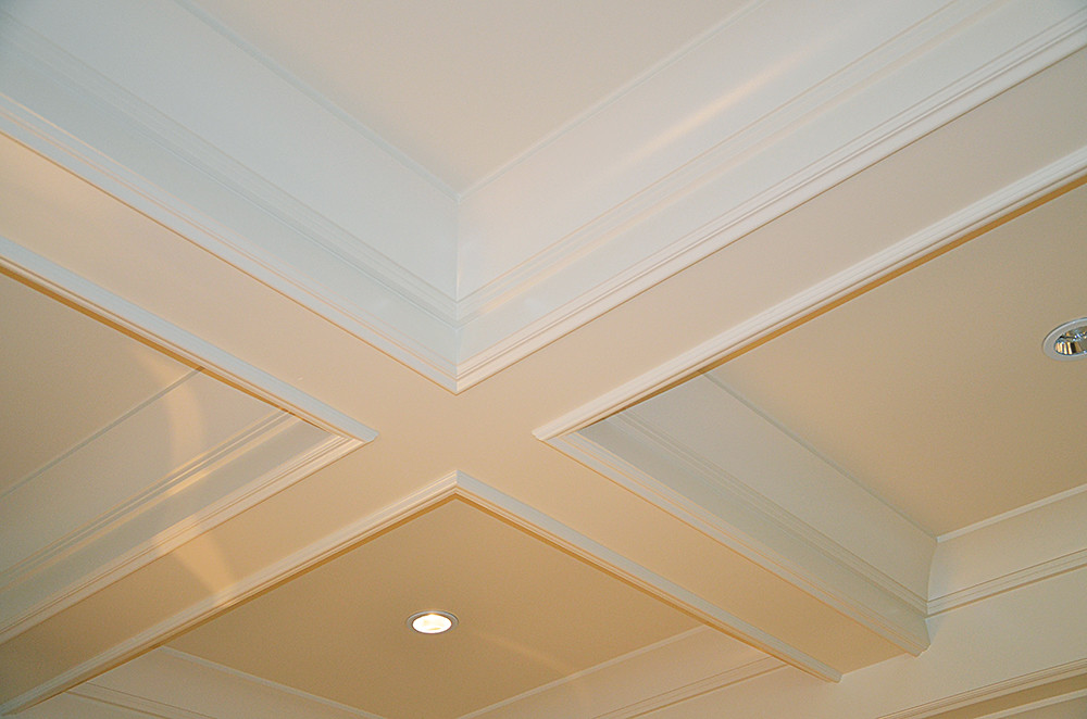 Coffered Ceiling Molding Design Detail This Coffered