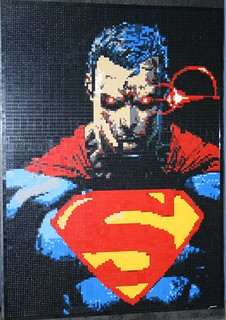 Superman Lego Mosaic | by BrickWares
