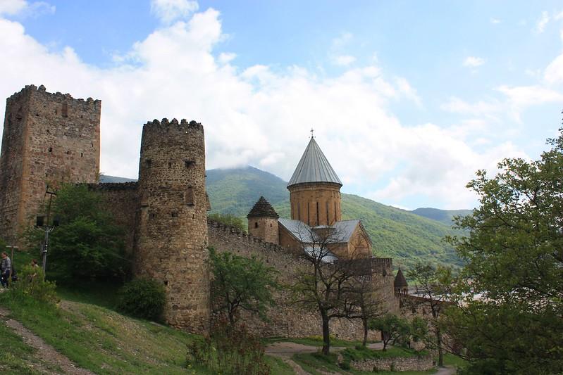 Военно Грузинская дорога Ананури