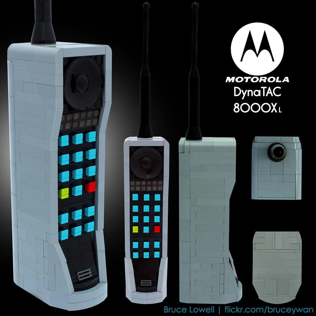 Bricku0026quot; Phone : 1985 Motorola Dynatac 8000Xu2514. The u2514 Model fe ...