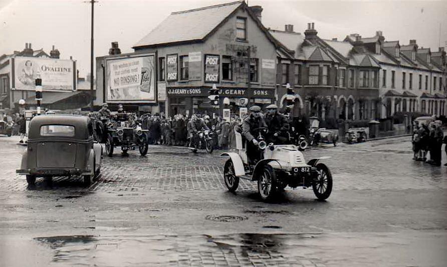 London To Brighton Vintage Car Rally 1952 Old Crocks Race