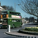 RT3241 leaves Grays Roundabout on the 328 , Apr 1971.