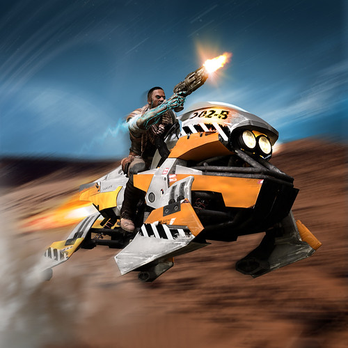 Starhawk: Jet Bike | by PlayStation.Blog