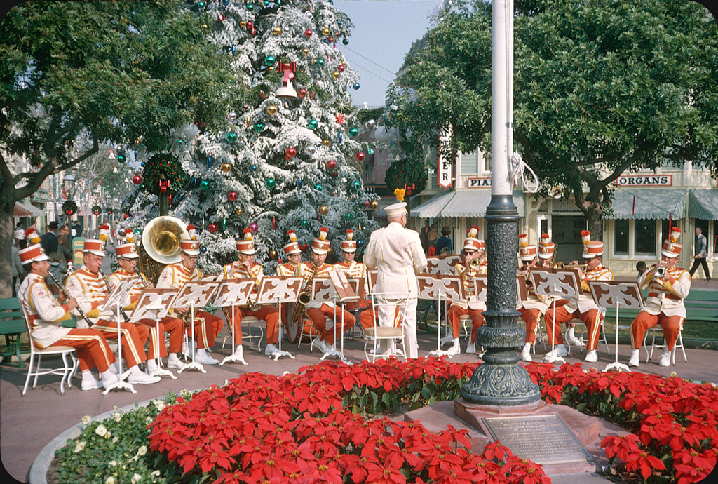 disneyland christmas � 1963 anaheim california