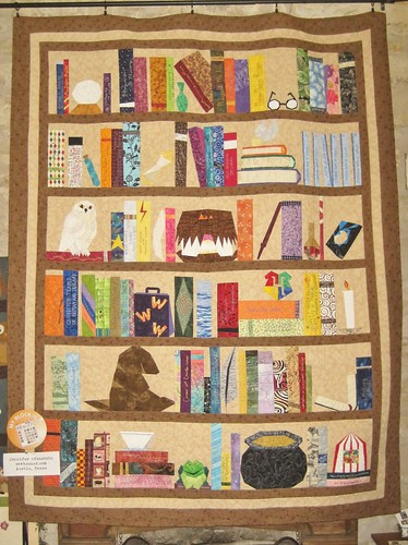 The Project of Doom on display at Hennig House Quilts | by Jennifer Ofenstein (sewhooked.com)