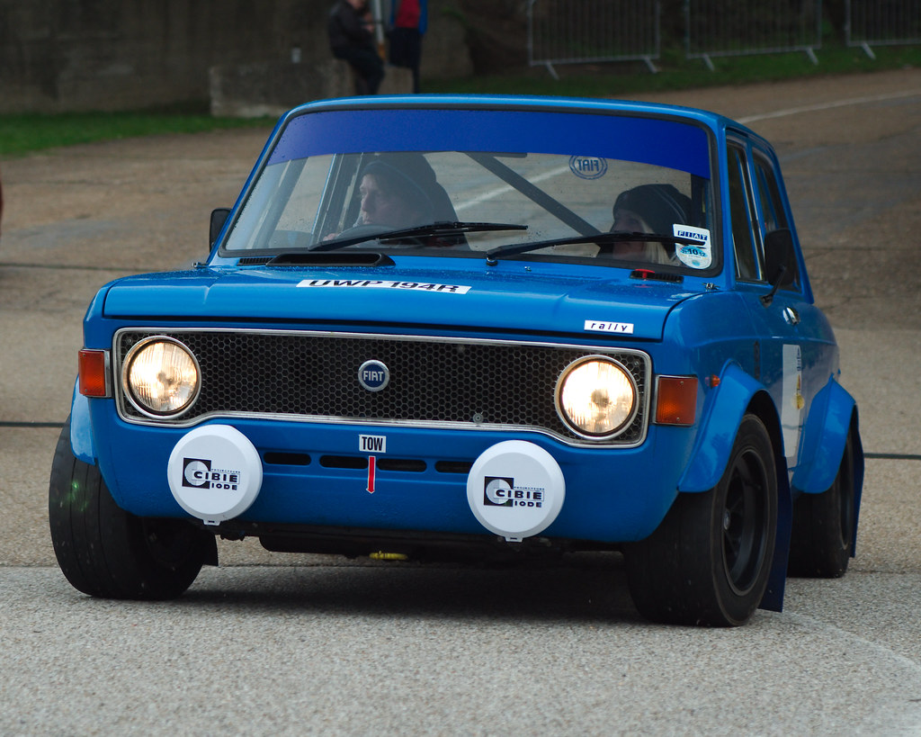 Fiat 128 Rally Taken At Auto Italia 2012 At Brooklands