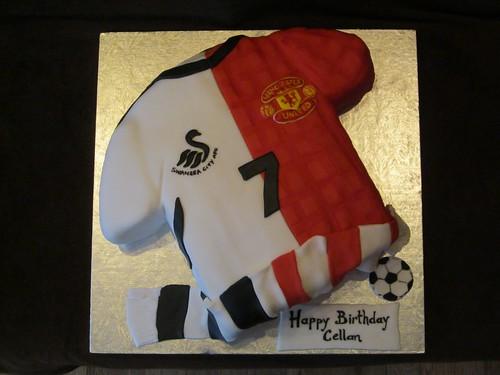 Manchester United Cake Topper Pritnable