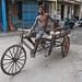 At Rest ...Rickshaw Puller