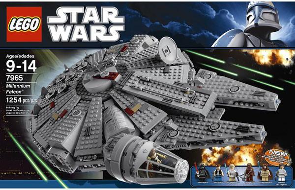 LEGO Star Wars Millennium Falcon LEGO Set 7965 Box Image | Flickr