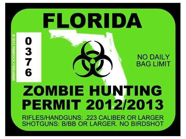 State ofFlorida zombie...