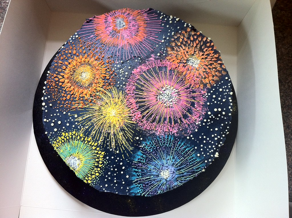 Best Firework Cakes