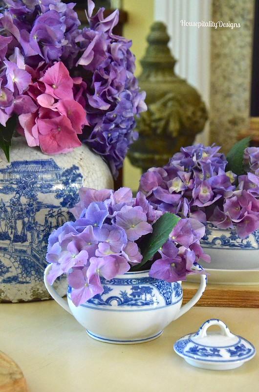 Chinoiserie and Hydrangeas - Housepitality Designs