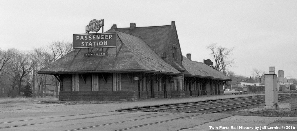 Cstpm Amp O Passenger Station At Superior Wi On April 19 19