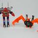 Transformers Enemy - G1 Encore - modo robot vs Wingthing